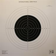 Gevärstavla 300 m Internationell 130x130 cm