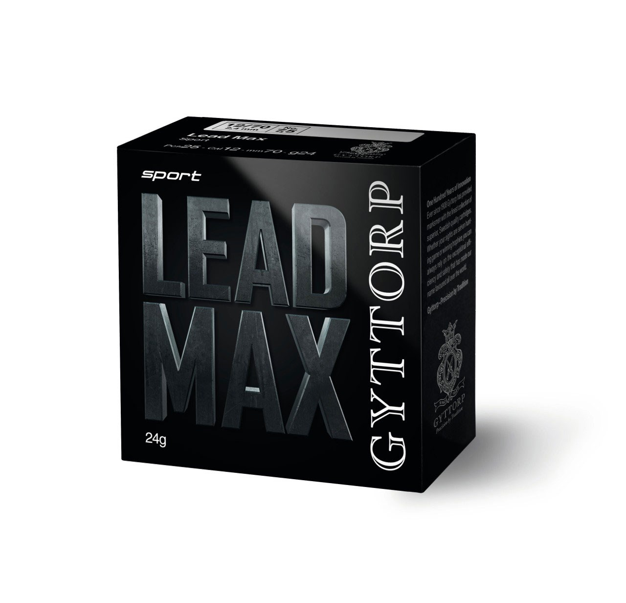 Gyttorp Leadmax 12 7,5 bly 24g.25ptr/fp