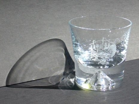 Glas Whiskey Hjort