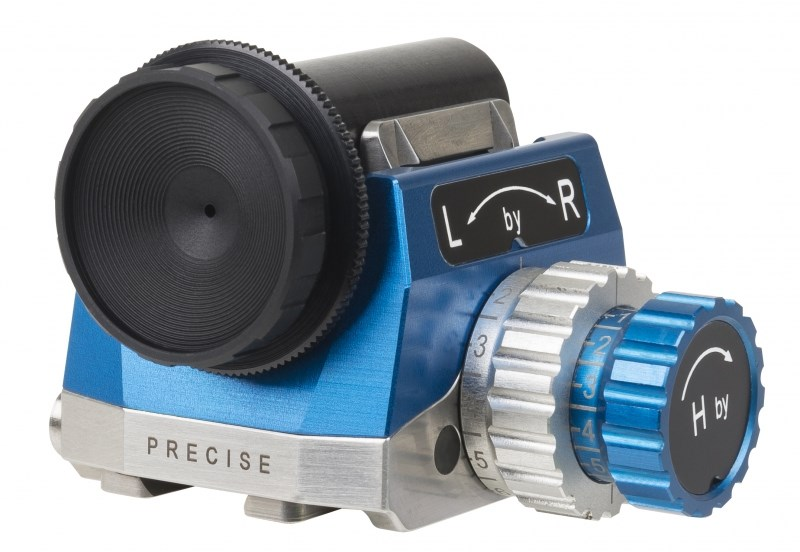Precise Rear Sight blue/silver