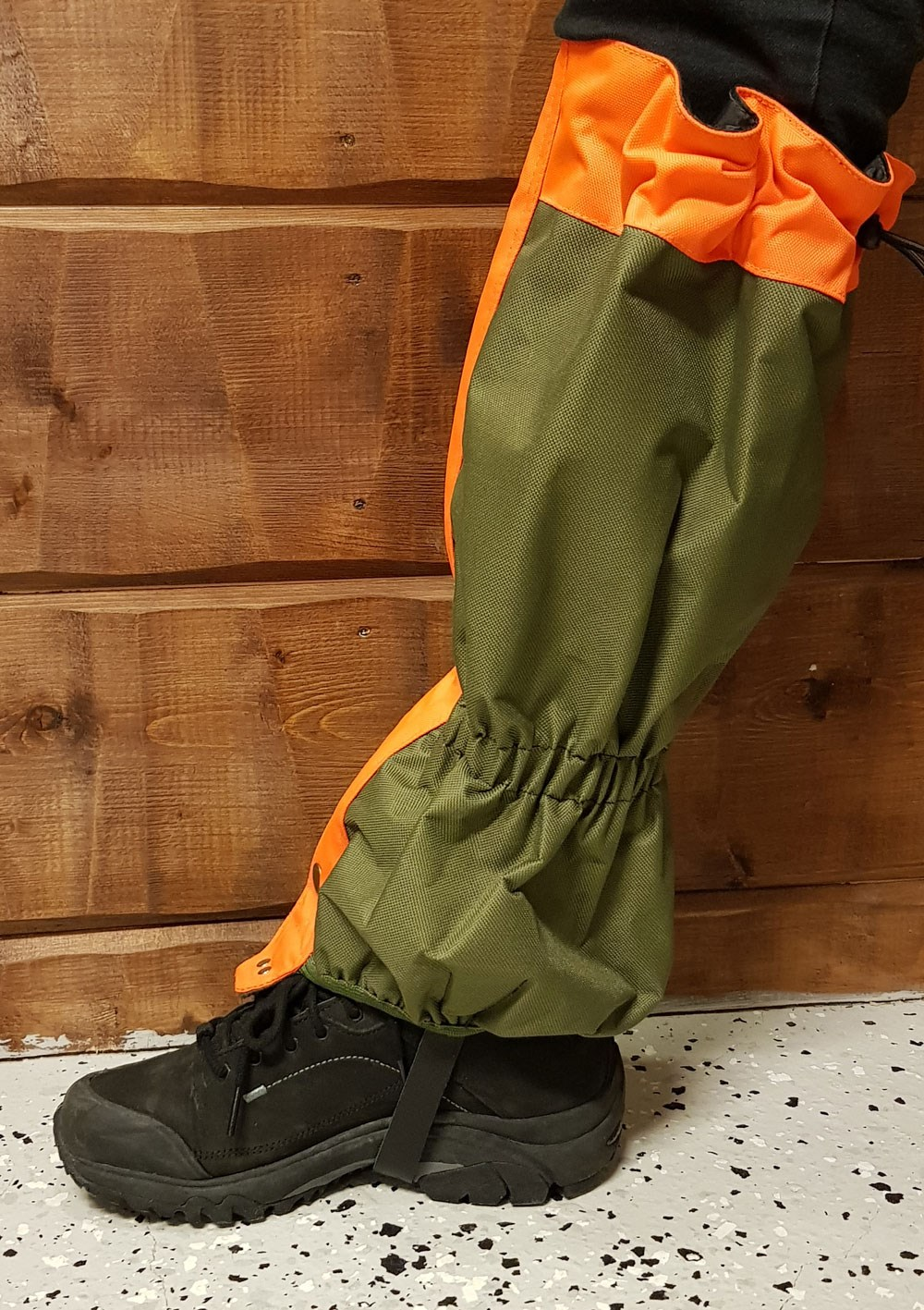 Gaiters Grön/orange