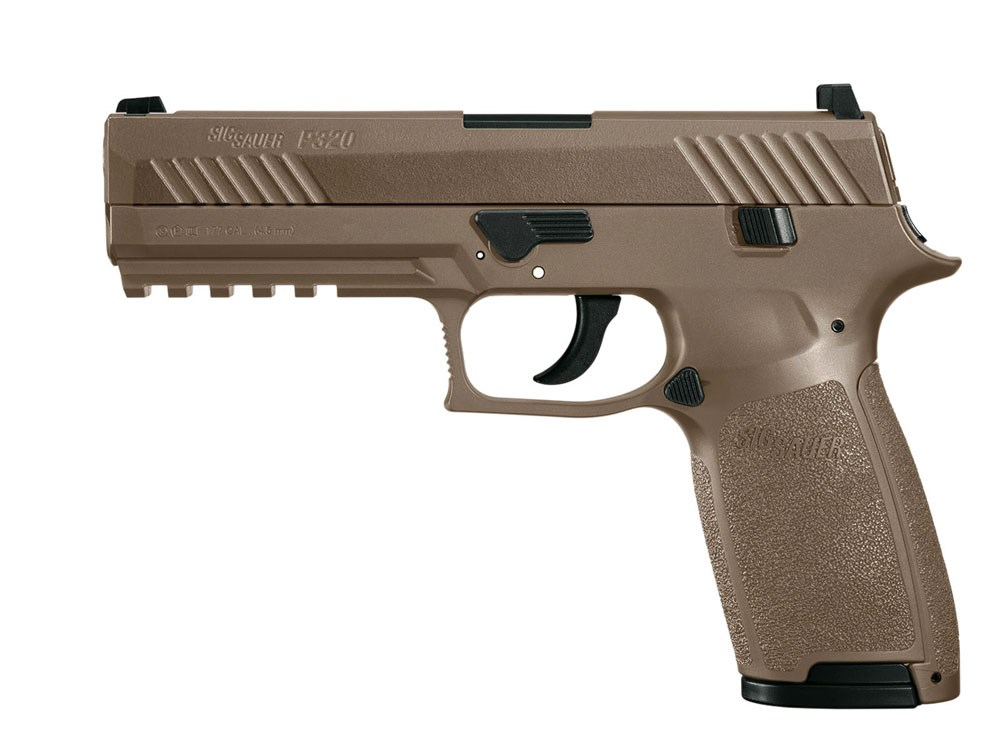 Sig Sauer P320 Coyote Tan 4,5 mm CO2