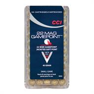 CCI .22WMR Game point 40 grain,